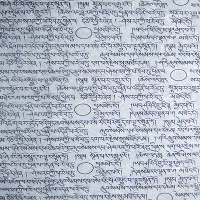 Tibetan Printed Milled Symbols Mulberry Paper Saa Paper From Hq